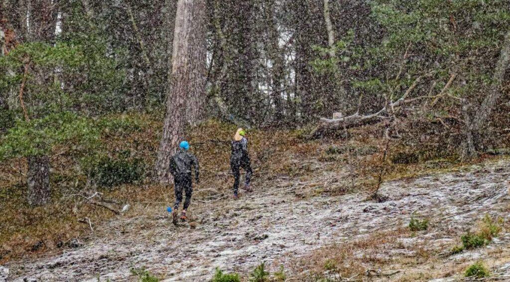Løb om vinteren er sjovt og udfordrende