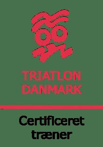 certificeret træner Triatlon Danmark sort