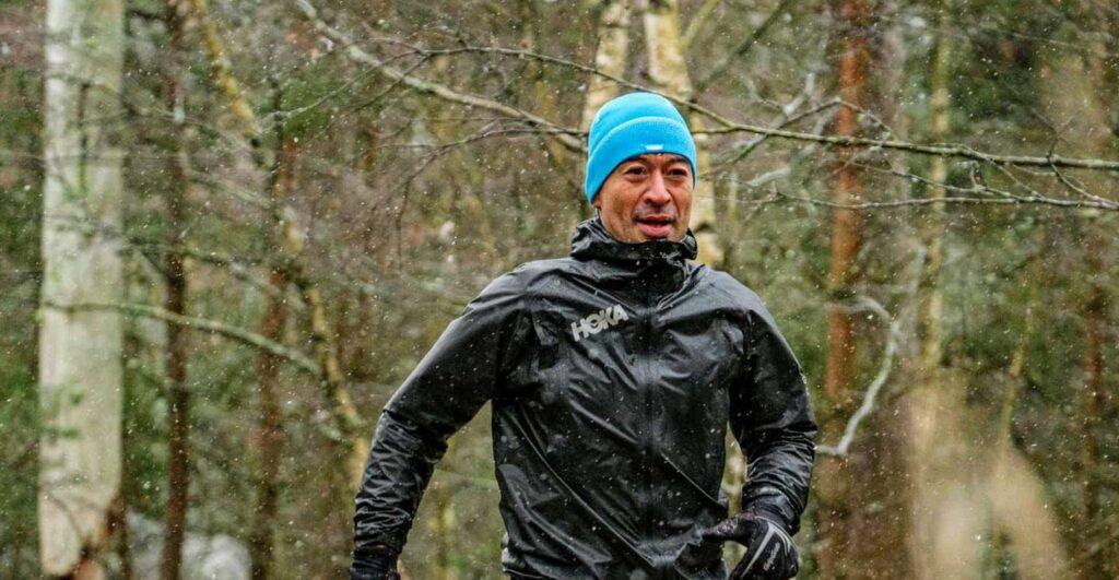 Løb om vinteren er sjovt