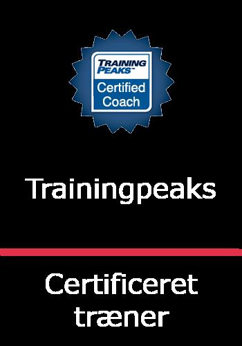 certificeret træner Trainingpeaks