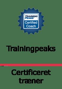 certificeret træner Trainingpeaks sort